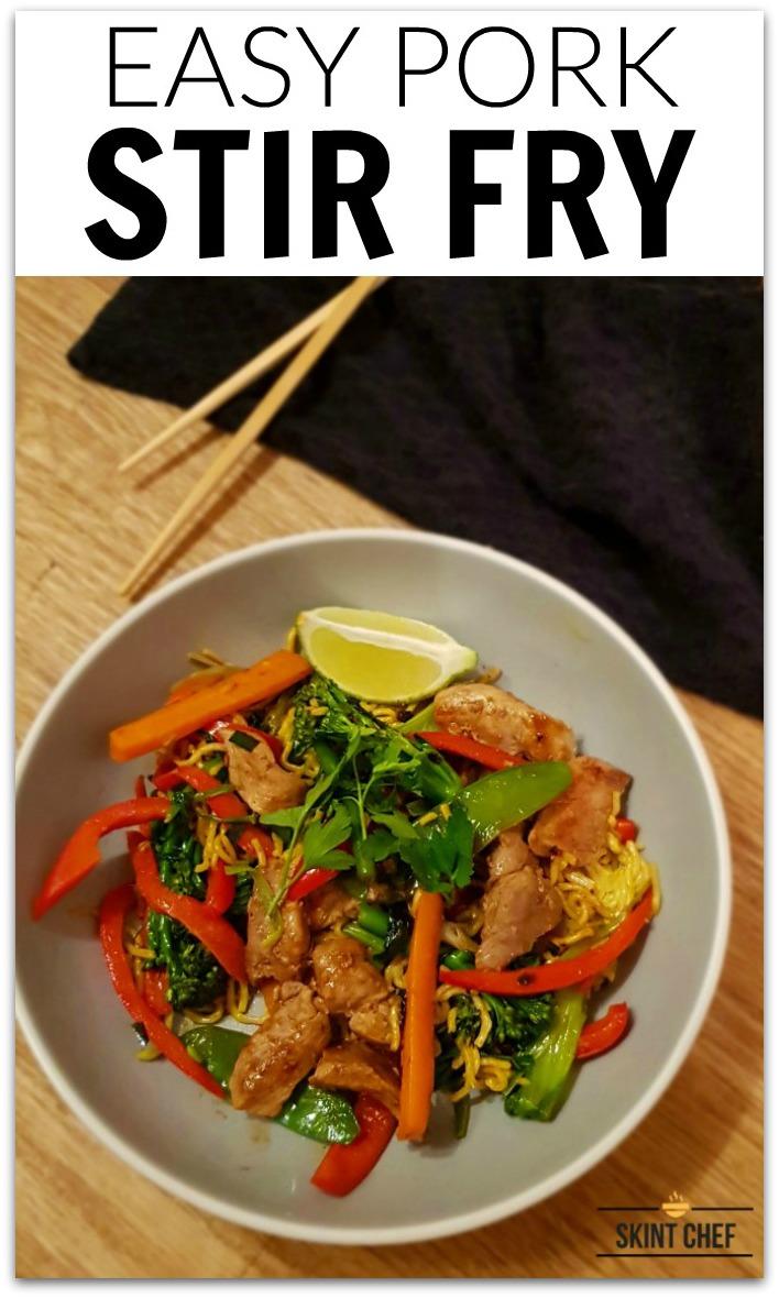 simple pork stir fry recipe