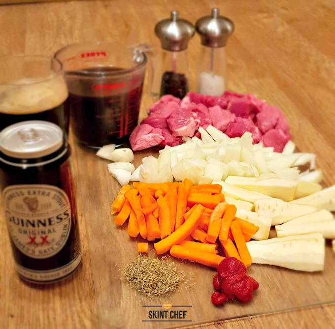 slow cooker beef and guinness stew ingredients