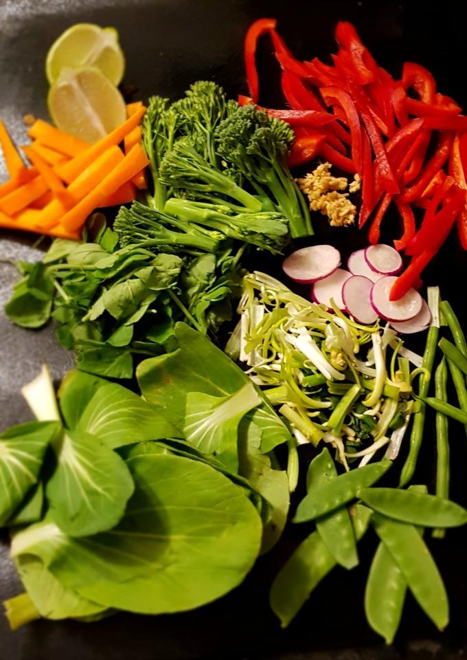 vegetables stir fry