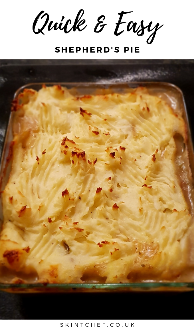 quick and easy shepherds pie recipe