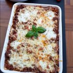 There's nothing better than a homemade lasagne! This is a classic, yet basic and easy lasagne recipe that the whole family will love.