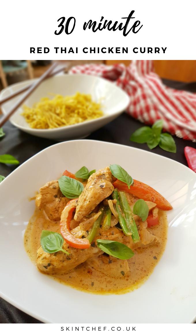 Thai red chicken curry recipe