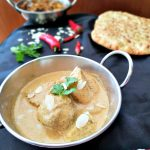 This easy Chicken Korma Recipe with coconut milk is a rich and creamy curry, without too much spice. It doesn't take long to make so is perfect as a family-friendly mid-week meal.