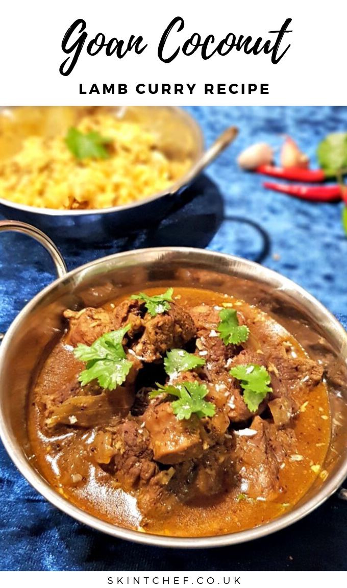 Goan coconut lamb curry recipe