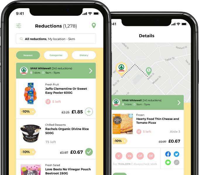 reductions on gander app