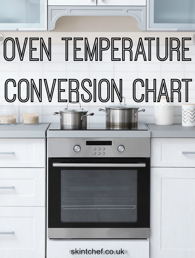 Oven Temperature Conversion Chart