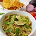 Chunky Authentic Guacamole Recipe