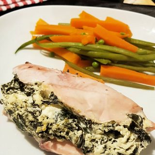 Stuffed Chicken with Spinach