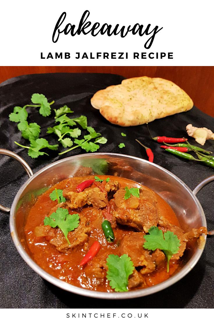 fakeaway Lamb Jalfrezi recipe