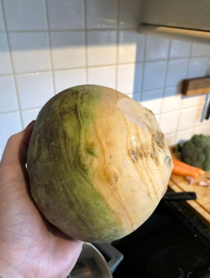 uncooked swede